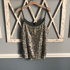 J. Crew   NWT Sequined Tank